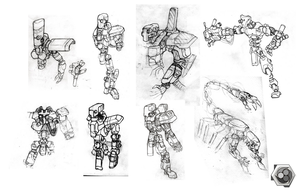 Robot Concepts by Synthaesthetic