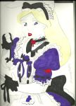 Gothic Alice by pierrettepaola