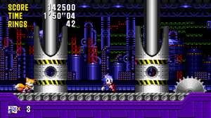 Sonic and Tails - Mock Up 'Final Fever Zone Act 2' by MrLevRocks