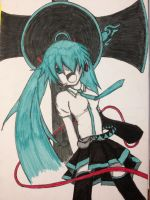 Hatsune Miku - Love is War by Onigiripencil