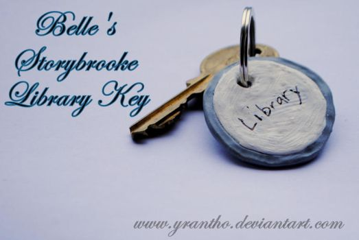 Belle's Storybrooke Library Key - Once Upon A Time by yrantho