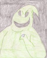 O is for Oogie Boogie by LittleladyToph