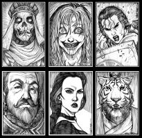 Ravenloft Portraits 2 by Everwho