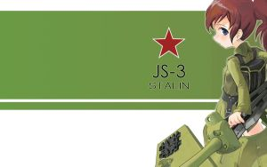 GirlArms JS-3 Wallpaper Wide by HaMsTeYr