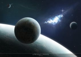 Unkown Moons I by Jsohpaul