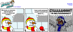 Snow Sam Comic 80 by BluebottleFlyer