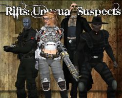 Rifts - the Unusual Suspects by ProphetX