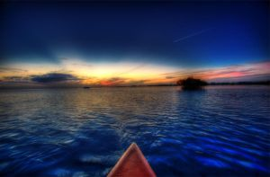 Sunset Kayaking by bricerice2