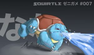 007-Squirtle by gillpanda