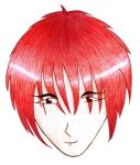 Random red-haired guy by NoNameQueen