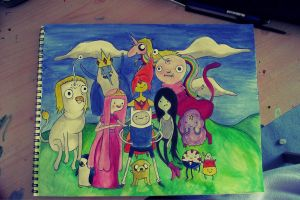 It's ADVENTURE TIME by SophFeeGee