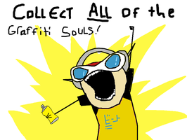 Collect ALL the graffiti souls by White-Balverine