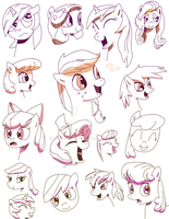 Some MLP comic ladies by toadking07