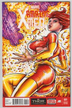 Phoenix Sketch Cover by ChrisMcJunkin