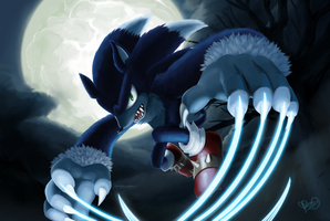 Wild Cobalt Claws  by sonicolas
