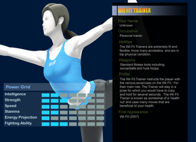 MvsCvsN: Wii Fit Trainer by Pika-Robo