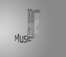 Music - Typography by valtier999