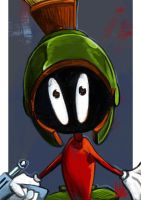 Daily Sketches Marvin the Martian by fedde