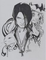 M.I.A Criss Angel by KidNotorious