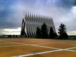 Air Force Academy Chapel by Sidneys1