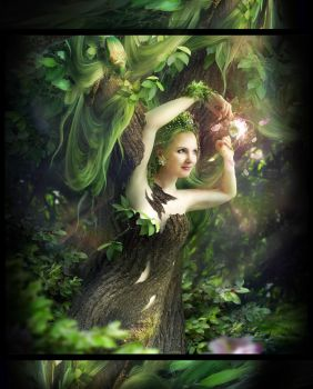 Dryad.  Series *For friends* by Tyami