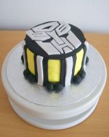 TransformersCake. by RebeccaRoseBrine