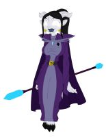 Tzarina Robed Flat by Action-Hank