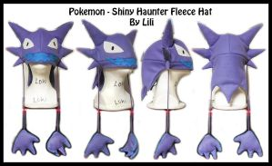 1st Gen - Shiny Haunter Hat by LiliNeko