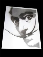 Dali Stencil by quitronic