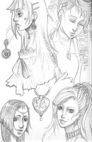 UFT sketches part 1 by Dar-chan