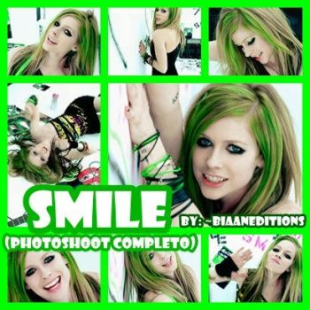Avril Lavigne: Smile PHOTOSHOOT by BiaanEditions