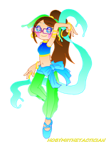 POINT COMMISSION : MARI AS DANCER by HOBYMIITHETACTICIAN