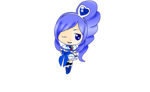 Cure Berry Chibi by 4cherryjuice
