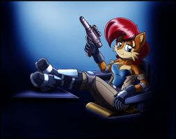 Commission: Smuggler Sally by zeiram0034