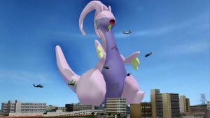 Goodra: The fun, squishy, lovable, gigantic Dragon by ChilledCubchoo