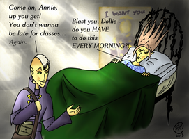Thalmor Academy: Rise and Shine by NorroenDyrd