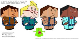 Cubeecraft-Real Ghostbusters by CyberDrone