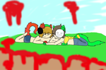 BLOODY CAT THERAPY by S3MP1TERNAL