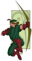 PNGz - Green Arrow by y2jenn