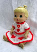Heart Dress for Aeowyn's Doll by Dragonrose36