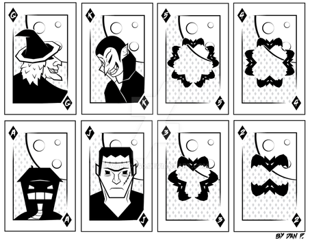 Halloween Playing Cards by Warbot40