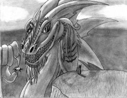 HTTYD: Talking to Green Death by Paranormalmoon