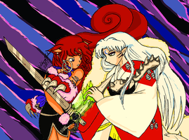 Having Fun Sesshomaru 2 Warmer by bluebellangel19smj