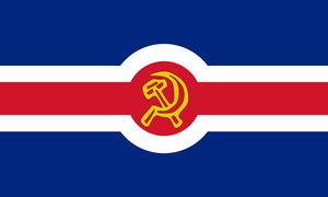British Communist Flag v2 by Flagsdesigns