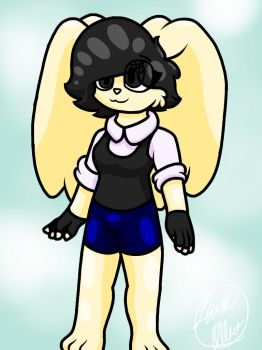 Oc Commission: Canvie the Bunny (or Rabbit :3) by SeaColtGamer