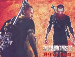Infamous 2 Festival of Blood by Archangel-Siha
