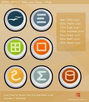 OpenOffice dock icons by 7cimi-19ceh
