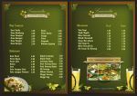 Lumintu Menu - Front + Back by weathered83