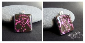 Metallic pink by caithness-shop