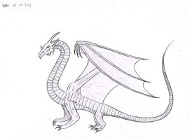 eurasian kingdragon by willem-the-drawer